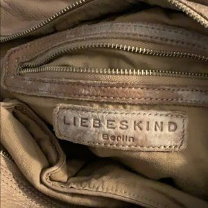 NWT leather satchel